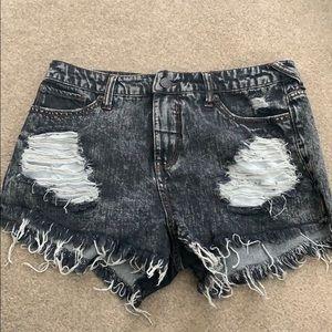 Mossimo High Rise Denim Shorts